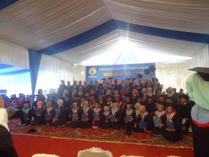 ANDIL PIHAK KEAMANAN KAMPUS IKUT SUKSESKAN WISUDA ke-XXXI STMIK INDONESIA