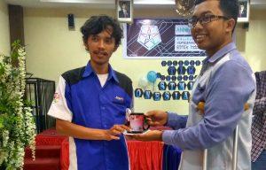 Muhammad Idrus Menangkan Perlombaan TYPING CONTEST RTIK Komisariat STMIK Indonesia Padang