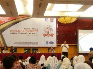 STMIK Indonesia Utus Mahasiswanya dalam Memperingati Hari Pers Nasional Sumatera Barat