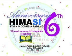 Anniversary ke-6: HIJRAH HIMASI