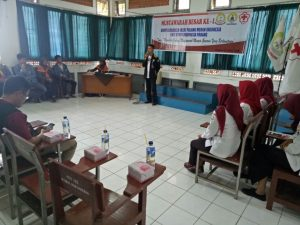 UKM Korps Suka Rela Palang Merah Indonesia (KSR PMI) Melaksanakan MUBES-1