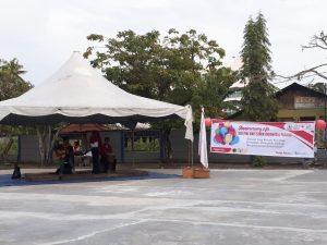 Anniversary KSR PMI STMIK Indonesia Padang : Cek Kesehatan Untuk Warga Kampus