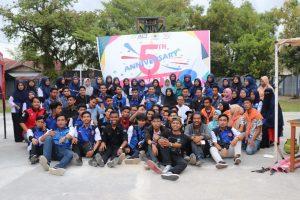 Beda Cangkia Ciek Raso dalam Anniversary Relawan TIK Komisariat STMIK Indonesia Padang ke-5
