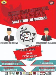 Siapa Calon Presiden dan Wakil Presiden Mahasiswa STMIK Indonensia Padang periode 2018/2019?