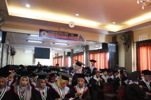 Wisuda ke-36 STMIK Indonesia Padang