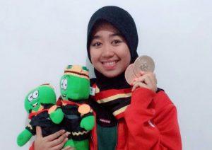 Mahasiswi STMIK Indonesia Padang: Pemenang dua Medali Perunggu Porprov XV