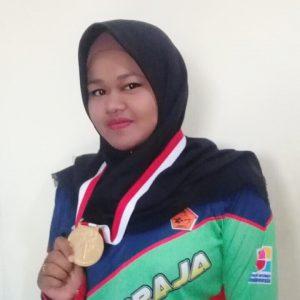 Atlet Panahan STMIK Indonesia Padang Raih Medali Emas di Ajang Wirabraja Open 2019