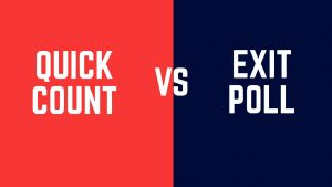 Quick Count VS Exit Poll