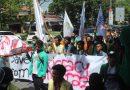Kinerja KPU dianggap lalai, Mahasiswa yang Tergabung dalam Aliansi BEM SUMBAR memilih Turun ke Jalan