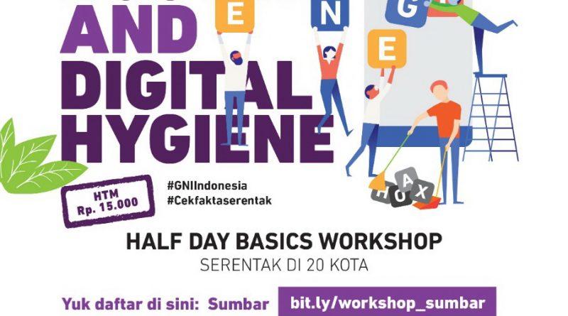 "Halfday Basic Workshop ""Hoax Busting and Digital Hygiene"""