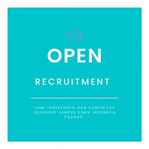 Open Recruitment ORMAWA Selingkup STMIK Indonesia Padang