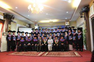Wisuda ke-38 STMIK Indonesia Padang